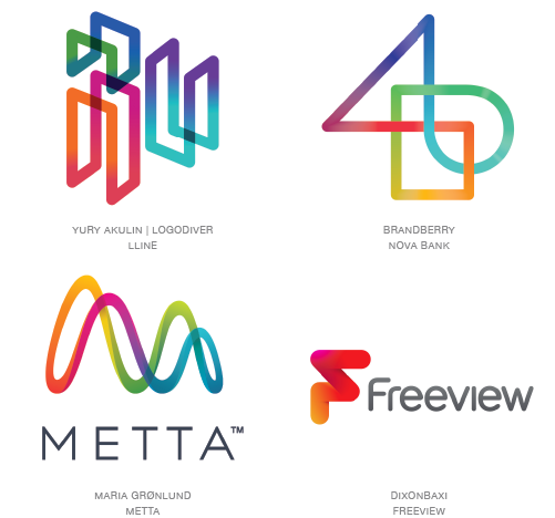 chroma coaster logo design trends 2015