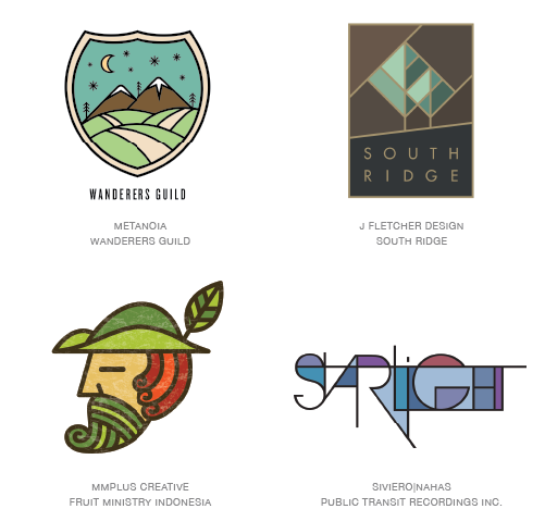 coloring logo design trends 2015
