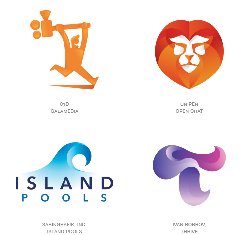 contours logo design trends 2015