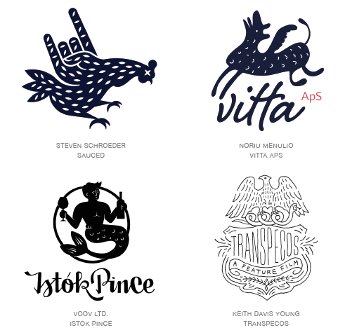 naive logo design trends 2015